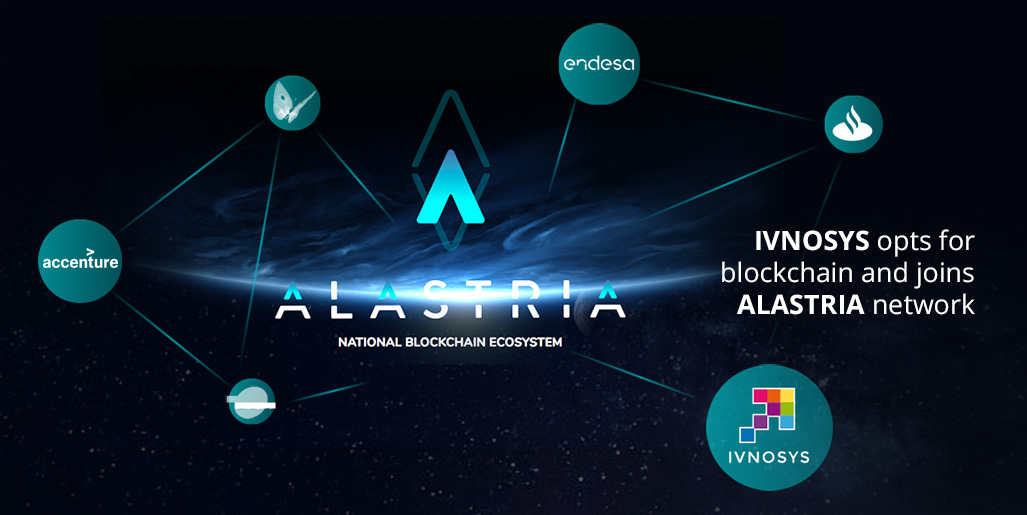 Ivnosys goes for Blockchain and joins Alastria network