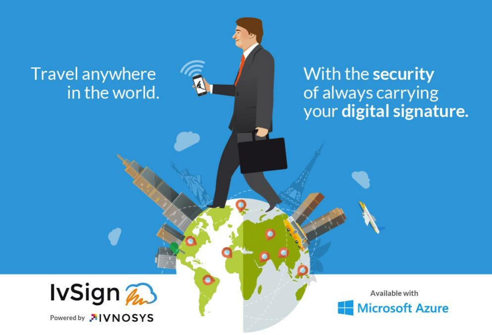 Ivsign and Azure join forces to offer digital signature in the cloud with Microsoft infrastructure