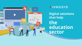 Digital solutions that help the education sector
